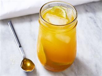 Nước chanh mật ong đã tốt, uống vào 3 thời điểm này còn giúp giảm cân, thanh lọc cơ thể hiệu quả hơn gấp mấy lần
