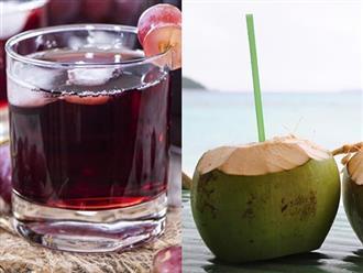 Nước hoa quả tự nhiên, uống vào giảm cân trông thấy mà chẳng cần thuốc