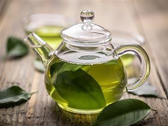 Nếu biết tác dụng 'thần kỳ' đối với nhan sắc này của nước trà xanh, chắc chắn bạn sẽ uống chúng mỗi ngày