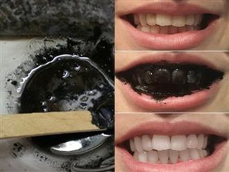 Nướng cháy bánh 1 mẩu bánh mì rồi chà lên răng 5 phút, bạn sẽ không tin vào mắt mình vì quá trắng, quá sạch lại thơm mát