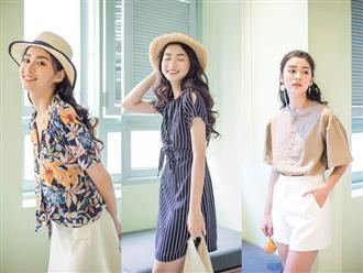 12 gợi ý phối đồ mùa hè cực trẻ trung, thời thượng cho phụ nữ U40 diện đi du lịch
