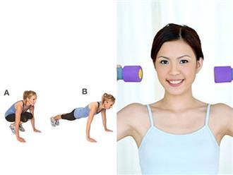 Phụ nữ U40 muốn có thân hình đẹp hãy tập ngay những bài tập này