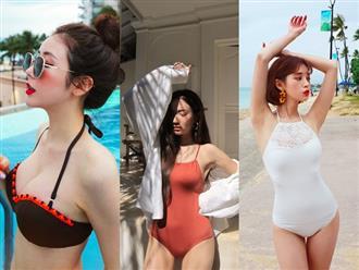 Quần áo bình thường còn giấu dáng được, nhưng đồ bơi nhất định phải chọn đúng thiết kế chuẩn dáng