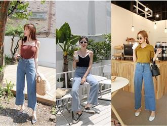 Quần jeans ống rộng - Không khó mặc như vẫn tưởng!