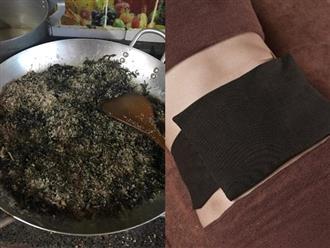 Rang muối + gừng + rau ngải cứu theo cách này để chườm bụng, giảm ngay 5cm vòng eo, săn chắc mà không cần uống thuốc giảm cân