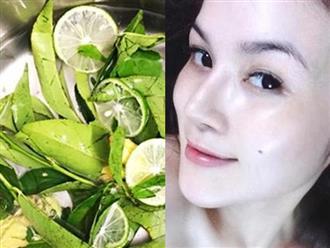 Nấu nước lá trà xanh để rửa mặt 2 lần mỗi ngày, da bật tông trắng mịn như bông bưởi mà chẳng cần mỹ phẩm