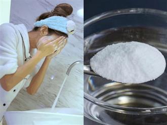 Rửa mặt xong xuôi rồi lau tiếp bằng dung dịch này, da nhờn thì kiềm dầu mà da mụn cũng hết luôn