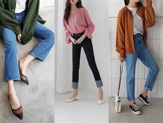 """Sắm gì thì sắm, tủ đồ của bạn nên có đủ 4 kiểu quần jeans này để không bao giờ phải lo """"không có gì để mặc"""""""
