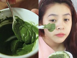 Chăm chỉ đắp mặt nạ từ trà xanh này, da trắng mướt, trẻ hóa và đẩy lùi đến hơn 10 năm lão hóa