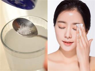 Tác dụng 'thần kỳ' chứng minh nước muối pha loãng không thua kém gì thuốc trị mụn, mỹ phẩm dưỡng da
