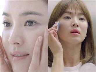 Tạm biệt mụn cám nhờ tuyệt chiêu chăm sóc da của 'nữ hoàng mặt mộc' Song Hye Kyo