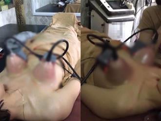 Tám chuyện dao kéo: Nâng ngực bằng máy hút không mổ xẻ, hiệu quả tức thì?