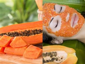 Thật dễ để loại bỏ mụn trứng cá chỉ với hai thành phần mặt nạ màu cam