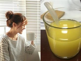 Thay vì uống trà sữa hãy uống 1 ly nước này trước khi ngủ, sau 3 ngày da trắng hồng, bụng eo ót đến bất ngờ