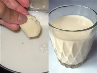 Thêm 1 nhánh tỏi khô vào ly sữa ấm uống mỗi tối trước khi đi ngủ, thần dược trị bách bệnh gấp trăm lần thuốc bổ lại giảm mỡ ào ào, eo thon phẳng lỳ như mơ sau 1 tuần