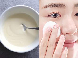 Thêm thứ này vào sữa tươi để rửa mặt, da trắng bóc, hồng hào như em bé dù lười dùng kem dưỡng