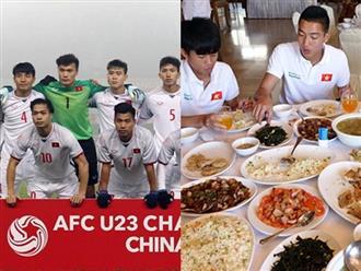 Thì ra các cầu thủ U23 Việt Nam ăn uống thế này thảo nào ai cũng cao to như soái ca lại khỏe vâm thi đấu 120 phút không mệt