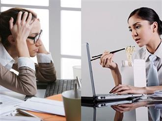 Thói quen làm chậm quá trình trao đổi chất, gây tăng cân
