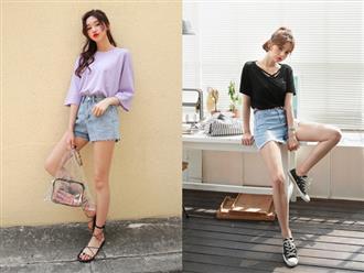 Thử kết hợp quần jean shorts cùng 7 kiểu giày/dép khác nhau, cô nàng đã tìm ra cặp đôi ăn ý nhất