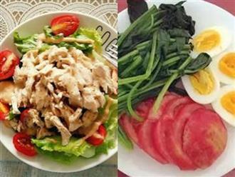 Thực đơn giảm cân cho các nàng mê trứng thịt mà không phải ăn toàn rau là rau