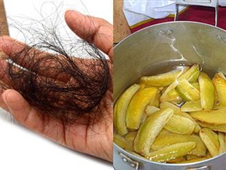 Tóc rụng gần hết cũng sẽ mọc ra dầy và đen với loại trái cây quen thuộc này
