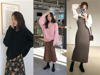 Trời se lạnh mà vẫn có nắng ấm, nàng công sở hãy triển ngay 4 cách diện váy xinh miễn bàn này