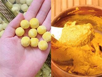 Trộn mật ong với bột nghệ ăn trước bữa cơm 15 phút, da trắng bóc, mụn ẩn, mụn li ti sẽ sạch bong, bụng ngấn mỡ cũng thon gọn đến bất ngờ