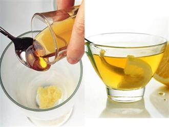 Uống mật ong nóng đúng cách vào buổi sáng, da đẹp, dáng xinh chỉ sau 1 tuần thoải mái diện đồ Tết