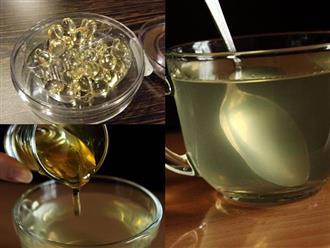 Uống mật ong và vitamin E đúng cách vào buổi sáng liên tục 7 ngày, da trẻ hóa cả chục tuổi