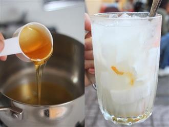 Uống nước dừa mật ong mỗi sáng giúp giảm 5kg/tuần, 10 người dùng thì 9 người thành công
