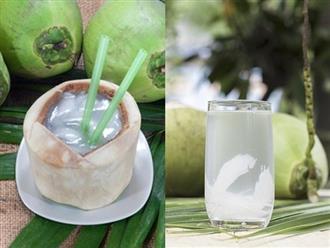 Uống nước dừa vào buổi sáng có hàng tá tác dụng cực tốt và không thua kém gì 'thần dược'