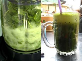 Uống 1 ly nước rau má mỗi ngày, có kem dưỡng hay viên collagen tốt cỡ nào cũng không cần đến