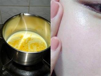 Công thức sinh tố 'vàng' giúp làm trắng da, chống lão hóa