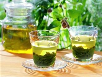 Nếu muốn làn da nhận được những điều tuyệt vời này, bạn nên uống nước trà xanh mỗi ngày
