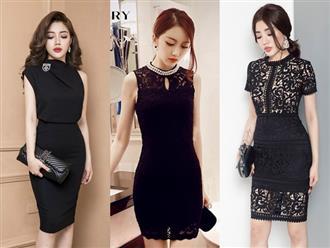 Váy đen sang trọng - Sự lựa chọn hoàn hảo cho phái đẹp