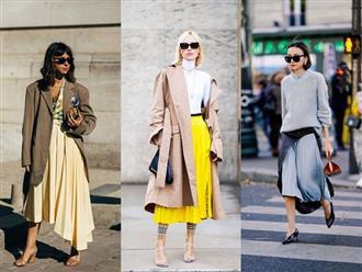 Váy xếp ly mốt trở lại, nhưng bạn biết cách mặc?