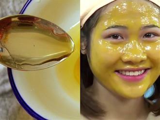 Quên hết kem dưỡng đi, dùng ngay mặt nạ vitamin E với thứ này, da sẽ trắng mịn sau 1 tuần