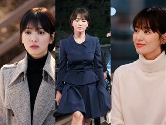 """Với 4 tips diện đồ ai cũng học được, Song Hye Kyo vừa hóa nữ thần công sở lại """"cưa đổ"""" trai trẻ trong Encounter"""