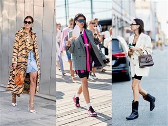 Xu hướng thời trang đường phố thịnh hành nhất thu đông 2018