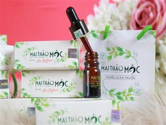 Đình chỉ lưu hành mỹ phẩm Mai Thảo Mộc Nature Cosmetic kém chất lượng