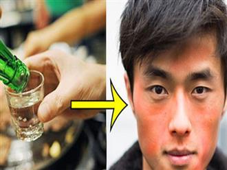 Đỏ mặt khi uống rượu: Tưởng bình thường nhưng lại cực nguy hiểm