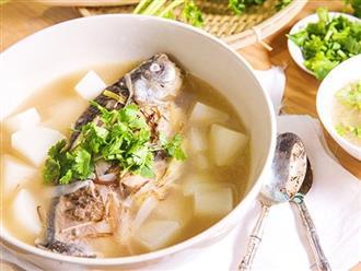 Cá diếc không những ngon, bổ dưỡng mà còn có công dụng chữa những loại bệnh này