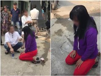 Bồ nhí bị tát bầm mặt, bắt quỳ gối giữa đường vì thách thức vợ nhân tình: 'Bà mà làm um lên tôi nói ông ly dị bà để sang cưới tôi'