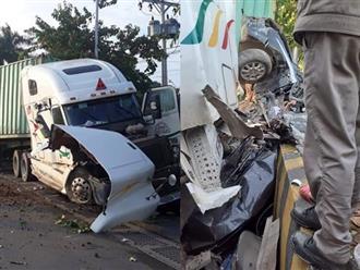 Vụ container đâm ô tô bẹp dúm ở Tây Ninh: 4 nạn nhân là người thân ruột thịt