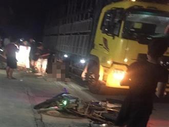 Xe Exciter chở 3 tông vào xe tải khiến 3 người chết: Các nạn nhân là họ hàng