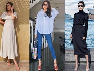 """3 mỹ nhân U40 có style chuẩn """"nữ tổng tài"""", loạt outfit gộp lại cũng thành cẩm nang mặc đẹp vạn năng cho nàng 30+"""