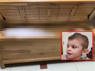 Bé trai mất tích trong đêm khiến cả nhà nhốn nháo đi tìm, mở rương đồ chơi ra ai cũng rụng rời chân tay