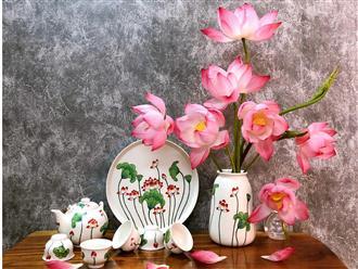 Mùa sen chính thức đổ bộ nhà các 'mem' yêu bếp: Nằm lòng ngay cách cắm sen ít người biết để hoa tươi lâu đi nào!