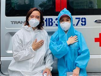 Chồng Việt Hương lên tiếng về lý do dừng phát quà từ thiện: 'Sức khỏe của ai cũng có vấn đề'
