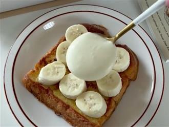 Không cần lò nướng vẫn làm được sandwich kem chuối thơm béo ngon lành